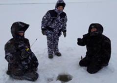Рыбалка с сотрудниками ПАО Сбербанк
